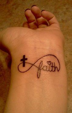 Faith Infinity Tattoo