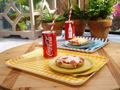 Sunny's Easy Freeze and Bake 24/7 Mini Pizzas recipe from Sunny Anderson via Food Network (Season 7/Back to School Menu)