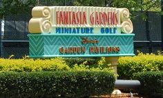 Miniature Golf at Walt Disney World Resort in Orlando, Florida