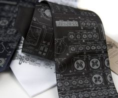 Apollo Cockpit Necktie | Community Post: 15 Gifts For The Science Lovers On Your List