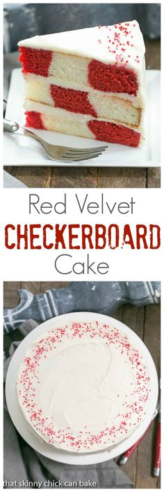 Red Velvet Checkerbo