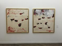 Cy Twombly at the Hara Museum