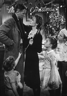 It's a Wonderful Life, my favorite!  Visit Indiana,PA, home of Jimmy Stewart! :-)