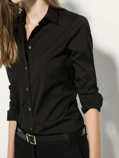 {10} {11} {9}´s PLAIN STRETCH SHIRT at Massimo Dutti for 89.5. Effortless elegance!