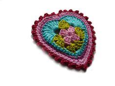 ••• Häkelherzchen ••• von crochet.jewels auf DaWanda.com