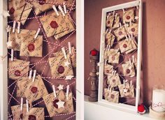Rotkehlchen: DIY: Advent Calender with lots of Ikea stuff