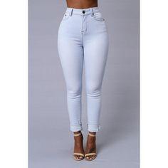 Crawford High Rise Jeans Super Light