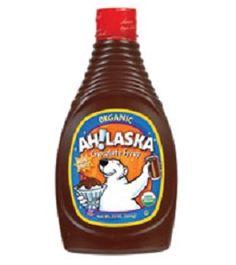 AH!LASKA (HA) organic chocolate syrup