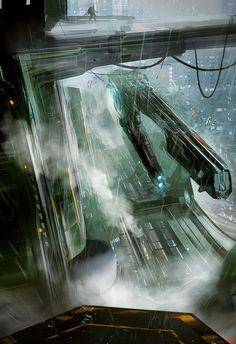 Naves espaciales: concepto por Dmitry Vishnevsky