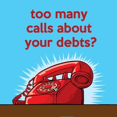 Find out the practical steps you can take if you are getting too many phone calls or texts about your debts: http://debtcamel.co.uk/calls-from-creditors/