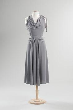 Cocktail Dress - Valentina, 1938 (Met Costume Institute)