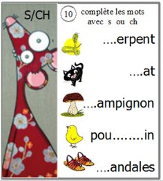 atelier confusions sons : écrire des mots French Education, Reading Games, French Class, Learning The Alphabet, Teaching French, Learn French, Confused, Montessori, Activities For Kids