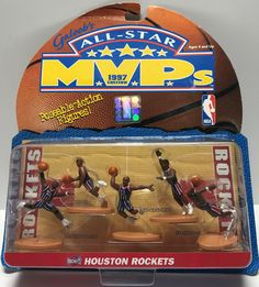 The Angry Spider Has All Of The Toys You Want For Your Collection: TAS024012 - 1997 ...  Check it out here! http://theangryspider.com/products/tas024012-1997-galoob-nba-all-star-m-v-p-s-houston-rockets?utm_campaign=social_autopilot&utm_source=pin&utm_medium=pin