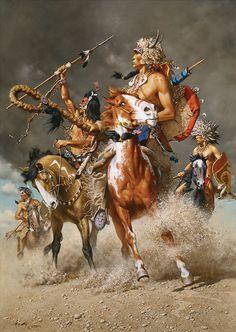Native American Art - Change In The Wind