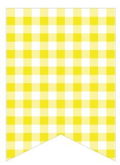 yellow gingham Classroom Labels, Classroom Themes, Eid Envelopes, Make Your Own Banner, Yw In Excellence, Box Of Sunshine, Yellow Birthday, Printable Crafts, Printables