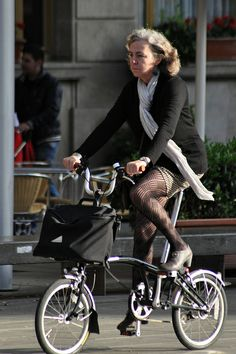 Brompton in black but always in style