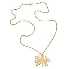 octopus necklace::jennifer zeuner