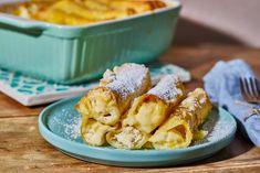 Édes túróval töltött cannelloni recept | Street Kitchen Trifle, Food, Essen, Meals, Yemek, Eten