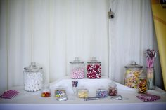 Cute sweetie table set up