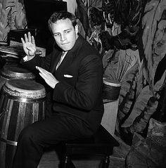 *MARLON BRANDO ~ playing the conga drums.