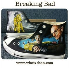 4e5e5a51488f Breaking bad converse Custom Converse Shoes