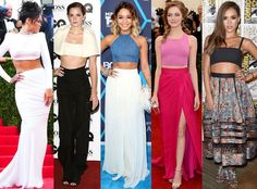 Stars' Hot Crop Top Style: Rihanna, Jessica Alba and More!