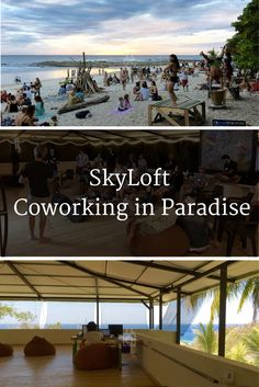 SkyLoft is one of the most popular coworking spaces on Coworker.com and is located in the beautiful Santa Teresa, Costa Rica. Enjoy working steps away from the beach while being in a vibrant community of entrepreneurs and location independent workers. | Cowork Costa Rica, Digital Nomads Central America, Coworking, Remote Working, Coworkcation