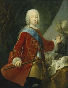 Grand Duke Peter Feodorovich of Russia (1728 - 1762), Tsarevich of Russia and heir of his aunt the Empress Elizaveta I Petrovna.