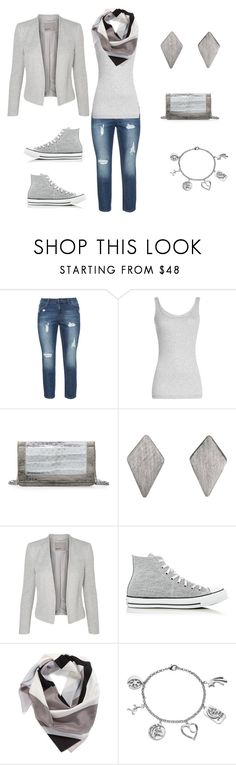 """Starting With the Basics #3"" by kerashawn ❤ liked on Polyvore featuring Vince, Nancy Gonzalez, Dutch Basics, Converse, Halogen and Love This Life"