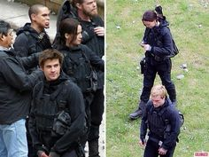 'The Hunger Games: Mockingjay' films in Paris