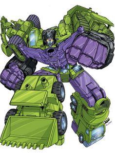 Devastator - still the best combining Decepticon ever! #decepticons #devastator #transformers