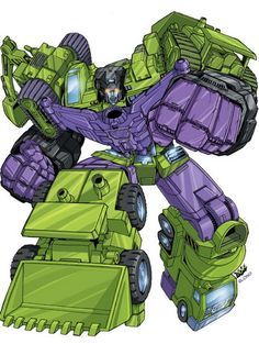 Devastator - still the best combining Decepticon ever! #decepticons #devastator #transformers