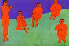 """La Musique""     Henri Matisse - huile"