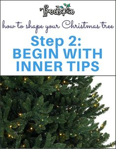 If your tree is pre-lit, switch on its lights beforehand so you can spot any…