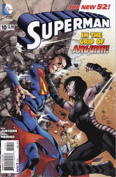 Superman #10 - August Issue - DC Comics - Grade NM