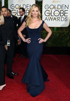 Golden Globes 2015: Katherine Heigl in Zac Posen - NYTimes.com