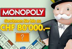 Gewinne bis zu 80'000 Franken mit dem neuen Swisslos Clix Monopoly Online Los. Mach mit beim Monopoly Spiel und teste dein Glück um 80'000.- zu gewinnen!  Sichere dir hier deine Chance: http://www.gratis-schweiz.ch/gewinne-80000-mit-dem-neuen-swisslos-clix-monopoly  Alle Wettbewerbe: http://www.gratis-schweiz.ch