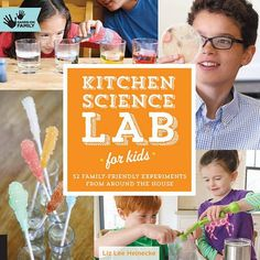Kitchen Science Lab for Kids: 52 Family Friendly Experiments from Around the House (Hands-On Family) Flexibound – September 15, 2014 by Liz Lee Heinecke (Author) At-home science provides an environmen