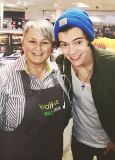 New life goal: work at a supermarket