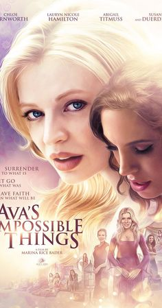 Directed by Marina Rice Bader. With Chloe Farnworth, Susan Duerden, Abigail Titmuss, Lauryn Nicole Hamilton. When her mother makes a shocking request, sheltered Ava struggles with reality, escaping into a dream world where she summons up old friends and long forgotten desires.