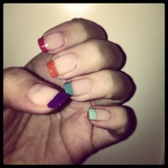 Colourfull nails