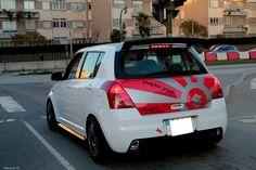 Suzuki Swift Sport, Suzuki Cars, Car Tuning, Custom Cars, Cars Motorcycles, Cool Cars, Muscles, Dan, Decals