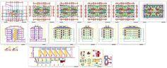 Dwg Adı : Her katta 4 daireli mimari proje  İndirme Linki : www.dwgindir.com/puanli/puanli-2-boyutlu-dwgler/puanli-yapi-ve-binalar/katta-4-daireli-mimari-proje.html