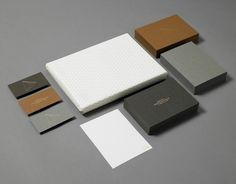 Stationery with gold foil detail for Seattle based photographer James Moes designed by Xavier Encinas.