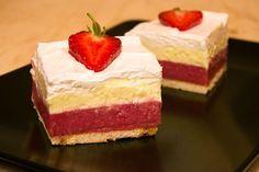 Brzi voćni kolač – sa jagodama i grizom — Domaći Recepti Brze Torte, Box Cake, Summer Recipes, Cookie Recipes, French Toast, Recipies, Cheesecake, Deserts, Yummy Food