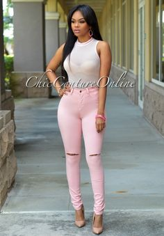 Chic Couture Online - Calla Baby Pink Sleeveless Mesh Bodysuit, (http://www.chiccoutureonline.com/calla-baby-pink-sleeveless-mesh-bodysuit/)