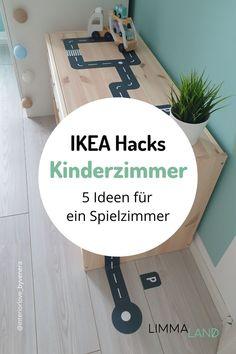 IKEA Hacks sind einfach eine super Sache! Sie sind oft im Handumdrehen gebastelt und schmücken jedes Kinderzimmer auf eine besondere Art, da sie nicht jeder hat. Merk dir diesen Pin oder schau direkt im Limmaland vorbei www.limmaland.com