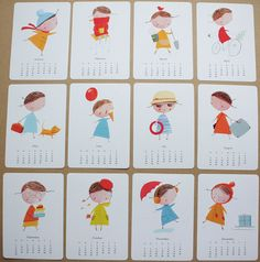 little people calendar