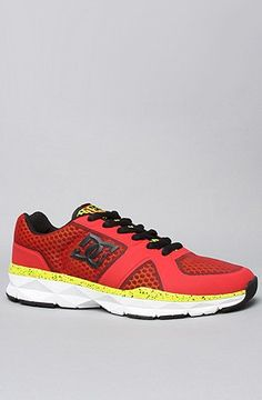 DC The Unilite Trainer Shoe in Athletic Red and « Shoe Adds for your Closet