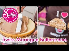 Swiss meringue butter cream / suitable for fondants / Sallys Welt - Easy Cookie Recipes, Pumpkin Recipes, Easy Desserts, Baking Recipes, Dessert Recipes, Creative Cake Decorating, Creative Cakes, Cupcake Toppings, Naked Cakes